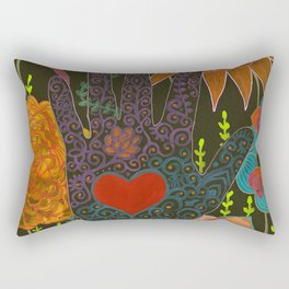To Have Your Heart In My Hand Rectangular Pillow