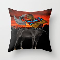 Lord of the Pocket Protectors  Throw Pillow