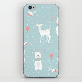 Fawn and Bear iPhone Skin