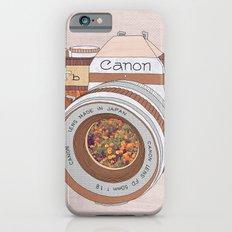 Wood Canon Slim Case iPhone 6s