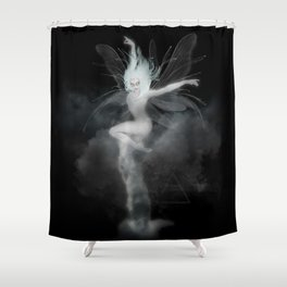 Air Witch - Elements Collection Art Print Shower Curtain