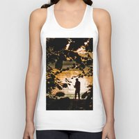 fishing Tank Tops featuring Fishing by Svetlana Korneliuk
