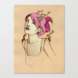 Head Brancher Canvas Print
