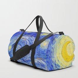 "Vincent Van Gogh "" Starry Night "" Duffle Bag"