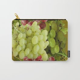 GREEN & RED GRAPE HARVEST  DESIGN Carry-All Pouch