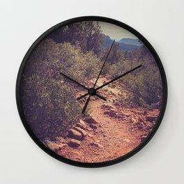 Sedona Trail Wall Clock