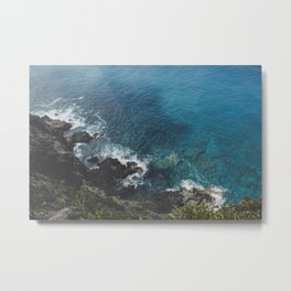 Blue Gem of Hawaii Metal Print
