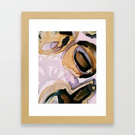 Red Wine and Coffee Please Framed Art Print