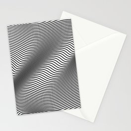 Bold Minimal Lines Stationery Cards