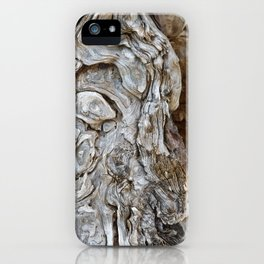 wood skin iPhone Case