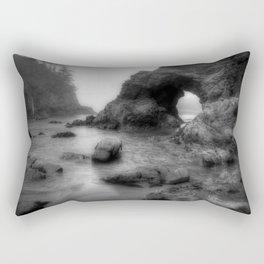 Trinidad Beach Rectangular Pillow