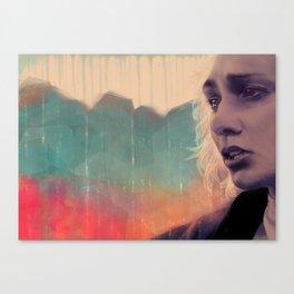Blue sense8 Canvas Print