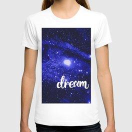 Blue Galaxy Dream T-shirt
