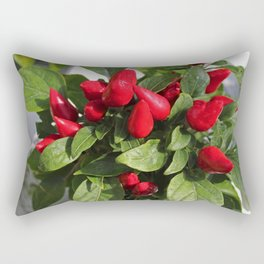 Ornamental Peppers II Rectangular Pillow