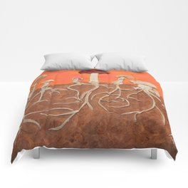 Laughing Shrooms Comforters