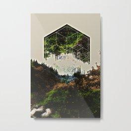 mountgeo Metal Print