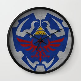 Hyrule Rulez #001 Wall Clock