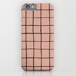 BASIC | Criss Cross Rose iPhone Case