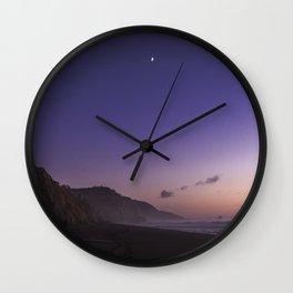 Hello Moon Goodnight Sun Wall Clock
