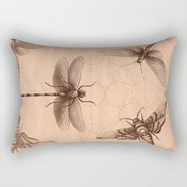 Dark Insect's Black Magic Rectangular Pillow