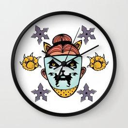 Ninja Dani Wall Clock