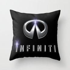Infiniti Throw Pillow