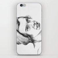 harry styles iPhone & iPod Skins featuring Harry Styles by petitehoneybee
