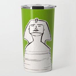 The great sphinx of Giza Travel Mug