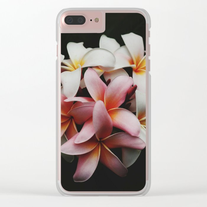 flowers of Malaysia Clear iPhone Case