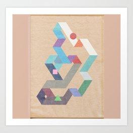 Parallelogram: Harmony II Art Print