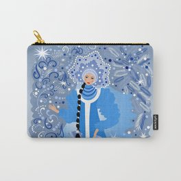 Beautiful snow maiden Carry-All Pouch