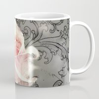 sleeping beauty Mugs featuring Sleeping Beauty by Dominique Gwerder