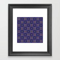 Royal [abstract pattern A] Framed Art Print