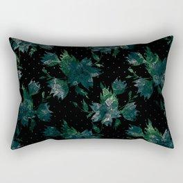 Art splash brush strokes paint abstract print Rectangular Pillow
