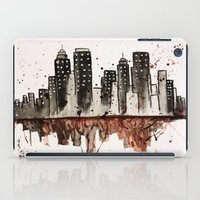 nyc iPad Cases featuring NYC by Rosalia Mendoza