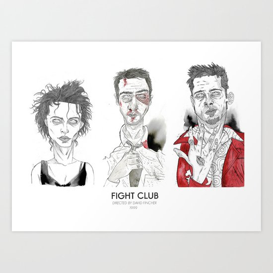 The First rule is - Triptych Art Print