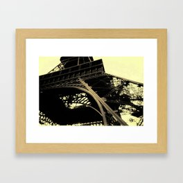 Close to the Top. Framed Art Print
