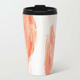 Summer Peaches Metal Travel Mug