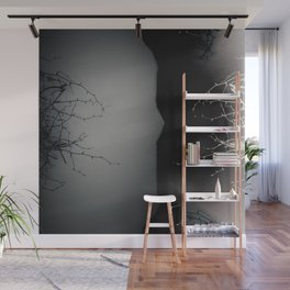 Branching Into Darkness Wall Mural