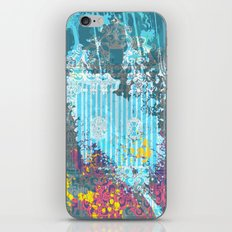 floral 007. iPhone & iPod Skin