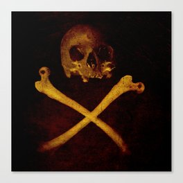 Pirate Skull Canvas Print