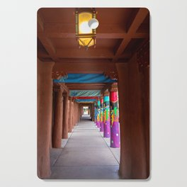 IAIA Museum Porch Santa Fe NM Cutting Board