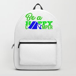 Be a happy camper 2 Backpack