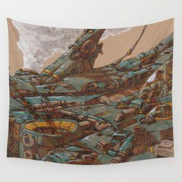 Aerial Station Two Wall Tapestry
