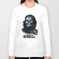 che Long Sleeve T-shirts featuring CHE-wbacca by Carlos Rocafort