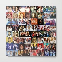 ABBA celebration all over print Metal Print