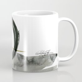 Enso Abstraction No. 112 by Kathy morton Stanion Coffee Mug