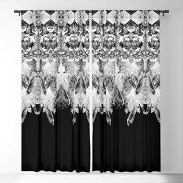Kryptonite - Black & White Blackout Curtain