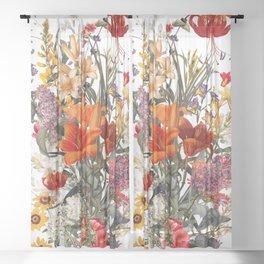 Summer Garden XII Sheer Curtain