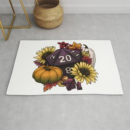 Harvest D20 - Autumn Tabletop Gaming Dice Rug